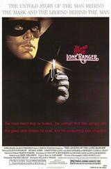 Die Legende vom einsamen Ranger - Poster