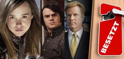 Ellen Page in X-Men: Der letzte Widerstand/Jack Black in Kings of Rock/Will Ferrell in Der Knastcoach