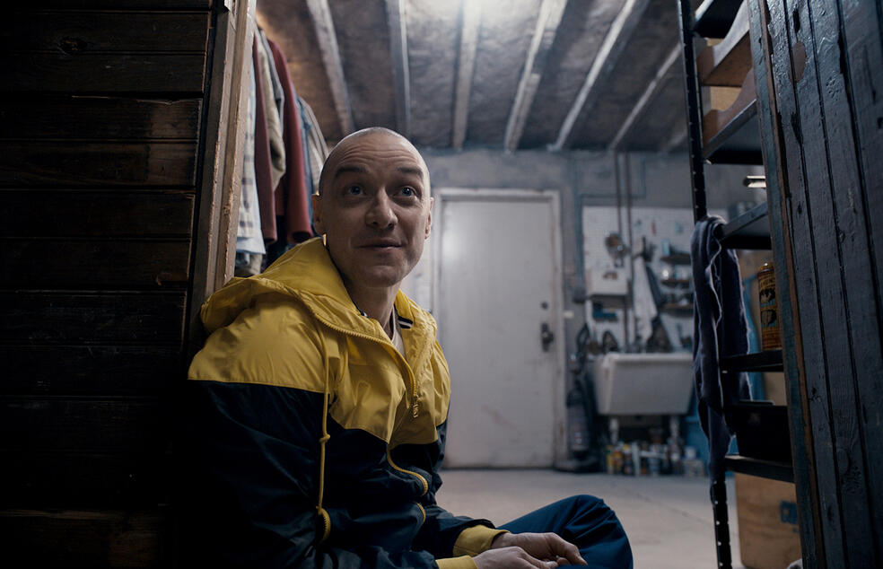 Split mit James McAvoy