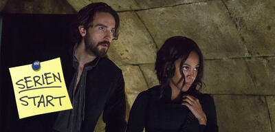 Abbie Mills (Nicole Beharie) und Ichabod Crane (Tom Mison) in Sleepy Hollow, Staffel 3