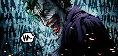 Der Joker aus den DC Comics