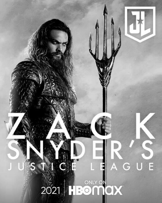 Zack Snyder's Justice League mit Jason Momoa