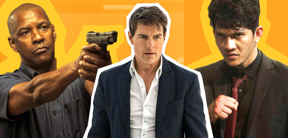 The Equalizer 2, Mission: Impossible 6 - Fallout, The Night Comes for Us
