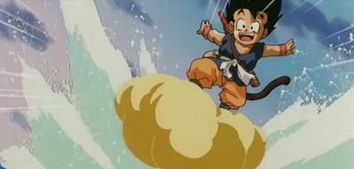 Son-Goku und seine Wolke
