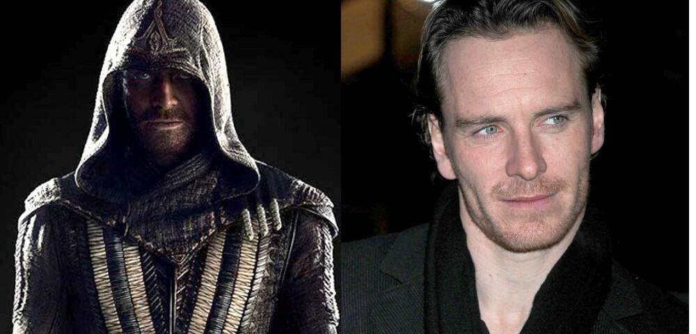 Assassin's Creed - Offizielles Bild mit Michael Fassbender & Ariane Labed