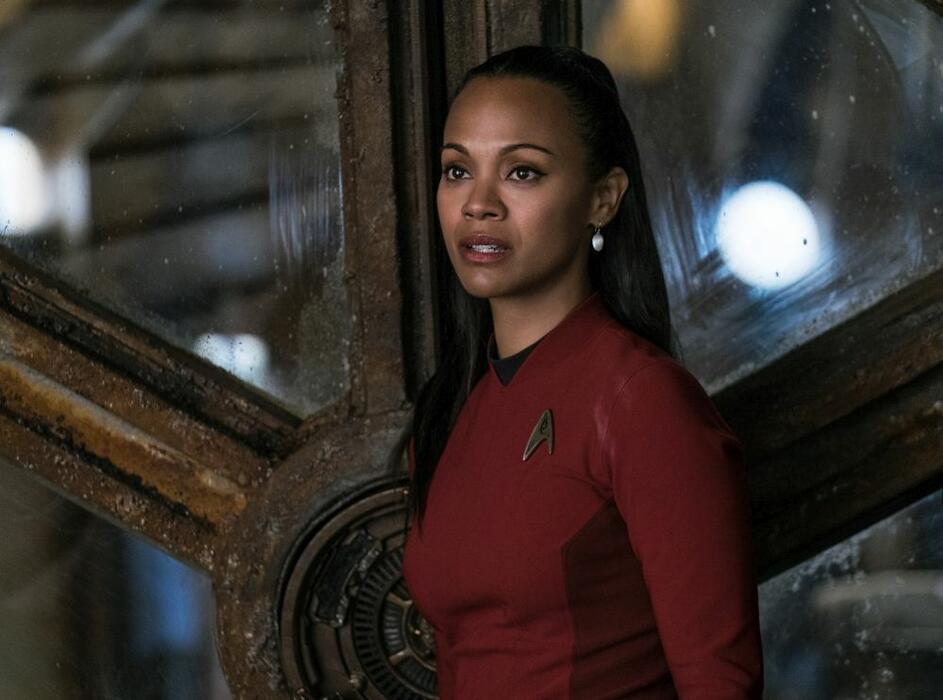 Star Trek Beyond mit Zoe Saldana