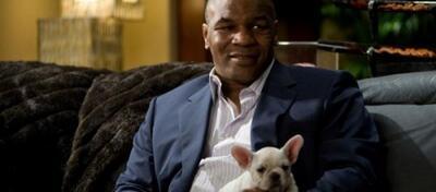 Mal sehen, ob Mike Tyson sein Schoßhündchen auch in Scary Movie 5 mitbringt...