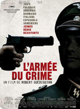 L'armée du crime - Poster