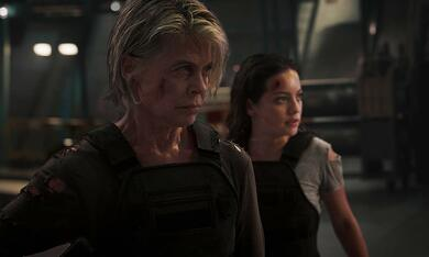 Terminator 6: Dark Fate mit Linda Hamilton und Natalia Reyes - Bild 2