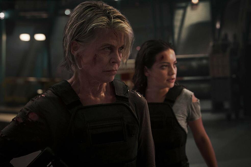 Terminator 6: Dark Fate mit Linda Hamilton und Natalia Reyes