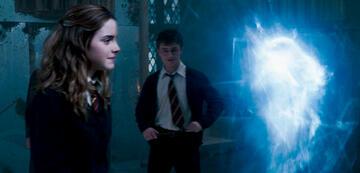 Harry Potter 5: Hermine mit ihrem Otter-Patronus