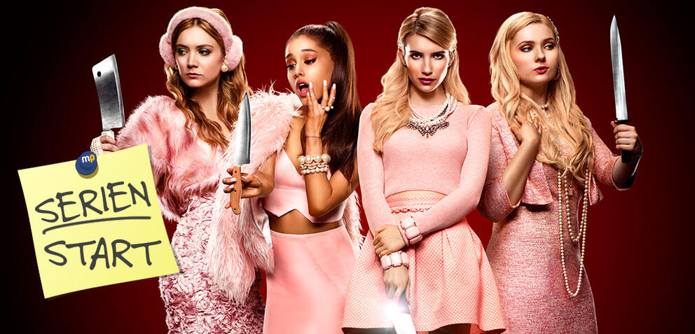 Scream Queens, Staffel 1