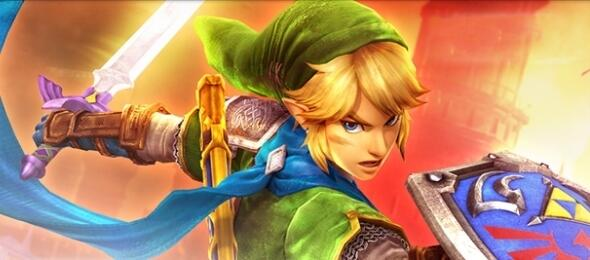 Link in Hyrule Warriors