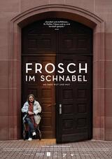 Frosch im Schnabel - Poster