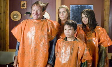 Die Chaoscamper mit Robin Williams, Josh Hutcherson, Joanna 'JoJo' Levesque und Cheryl Hines - Bild 1