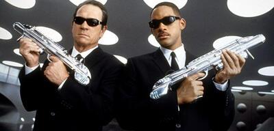 Die Men in Black Tommy Lee Jones & Will Smith