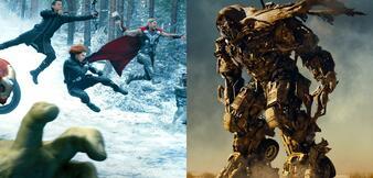 Avengers treffen auf Transformers