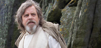 Luke Skywalker in Form von Mark Hamill in Star Wars 8: Die letzten Jedi