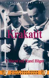 Krakatit - Poster
