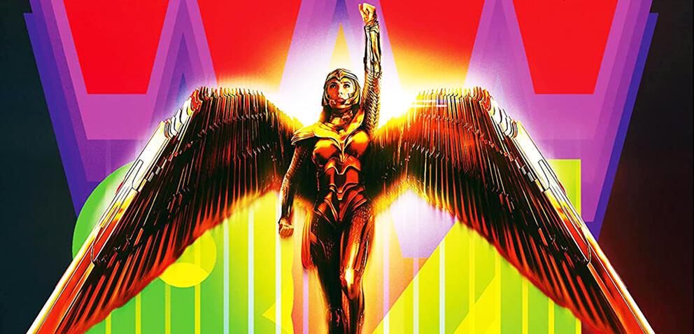 Das Cover der limitierten Steelbook-Edition von Wonder Woman 1984