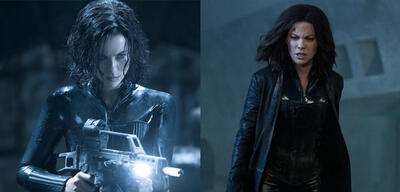 Kate Beckinsale in Underworld und Underworld 5: Blood Wars
