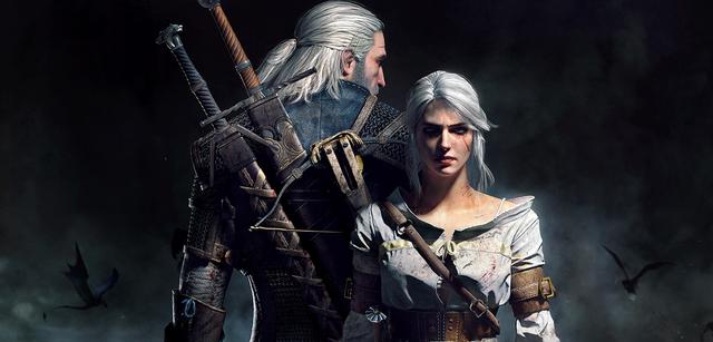 Geralt und Ciri aus The Witcher 3: Wild Hunt