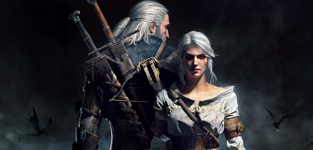 Geralt und Ciri aus The Witcher 3: Wild Hunt