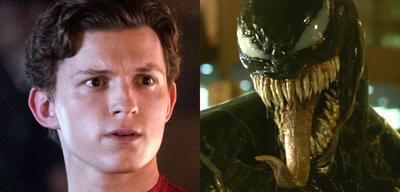 Spider-Man bewundert Venoms Zunge