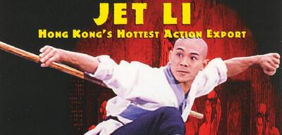 Jet Li auf dem Cover von Meister der Shaolin