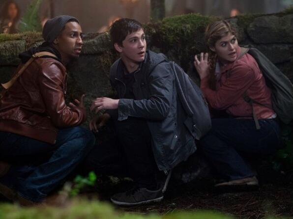 Percy Jackson 2: Im Bann des Zyklopen mit Logan Lerman, Alexandra Daddario und Brandon T. Jackson