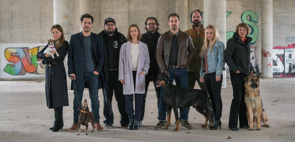 Der Cast der Netflix-Serie Dogs of Berlin