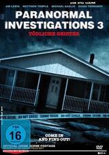 Paranormal Investigations 3 - Tödliche Geister - Poster