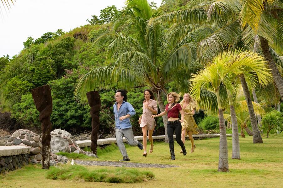 Fantasy Island mit Lucy Hale, Maggie Q, Portia Doubleday und Jimmy O. Yang