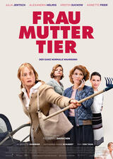 Frau Mutter Tier - Poster