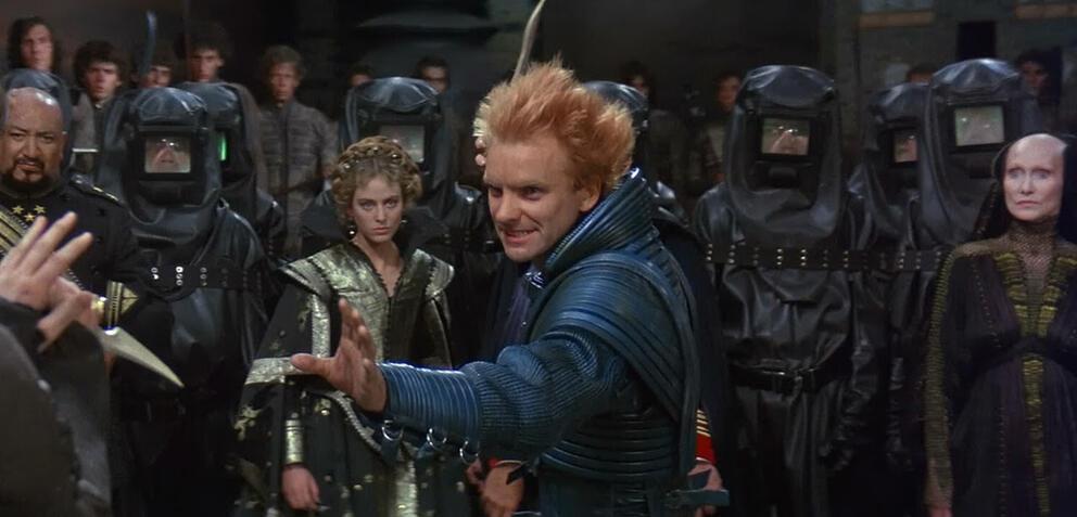 Sting in David Lynchs Dune