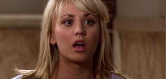 Kaley Cuoco inThe Big Bang Theory