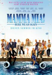 Mamma Mia 2! Here We Go Again Poster