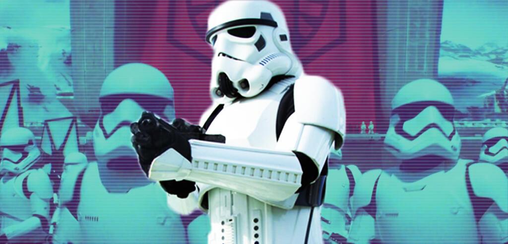 Stormtrooper in Star Wars