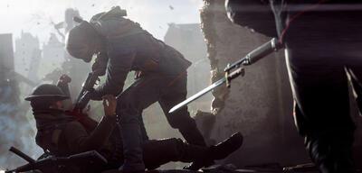 Das Bajonett in Battlefield 1 beeinflusst die Waffen