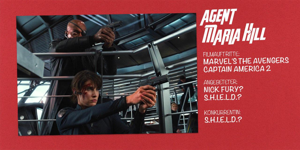 Marvel Agent Maria Hill