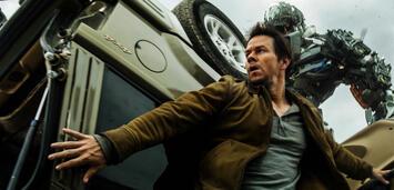 Bild zu:  Transformer und Mark Wahlberg