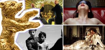 Bild zu:  Im Uhrzeigersinn: Gone with the Bullets, Fifty Shades of Grey, Aferim, Eisenstein inEisenstein in Guanajuato