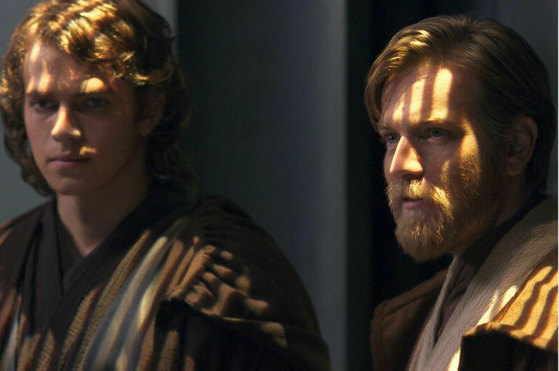 Star Wars: Episode III - Die Rache der Sith mit Ewan McGregor und Hayden Christensen