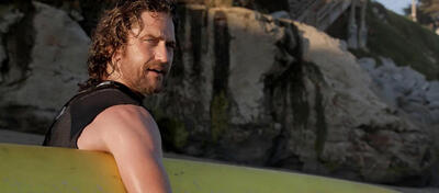 Gerard Butler in Mavericks