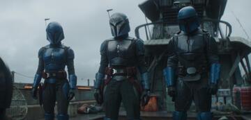 Bo-Katan und ihre Gang in The Mandalorian