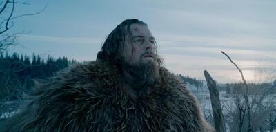 Kann es selbst noch gar nicht glauben: Leonardo DiCaprio in The Revenant
