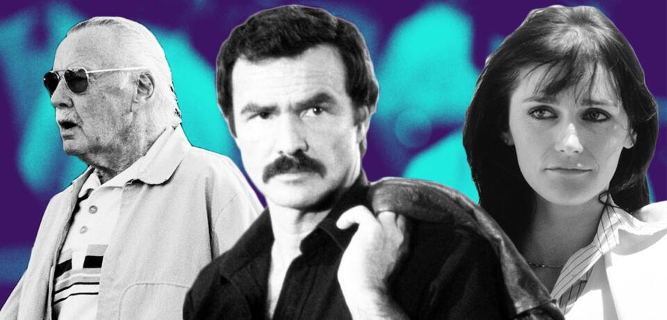 Stan Lee/Burt Reynolds/Margot Kidder