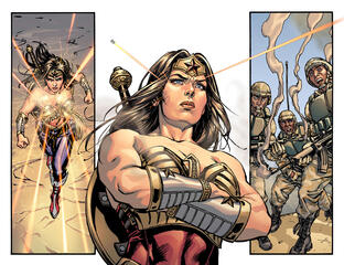 Wonder Woman in Injustice: Gods Among Us