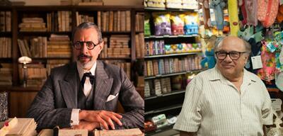 Jeff Goldblum und Danny DeVito
