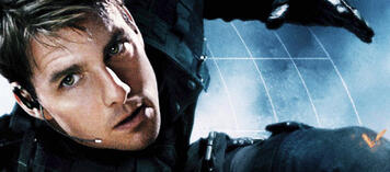 Tom Cruise in Mission:Impossible
